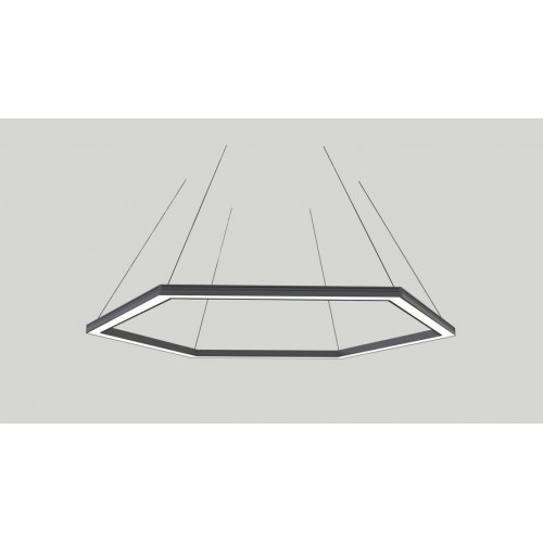 Светодиодный светильник в алюминиевом профиле Prima Tech Hexa Standart 600