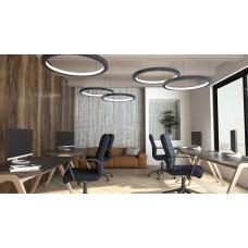 Светодиодный светильник в алюминиевом профиле Prima Tech Round Inside Premium D1200