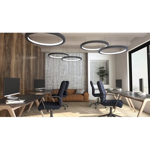 Светодиодный светильник в алюминиевом профиле Prima Tech Round Inside Premium D600