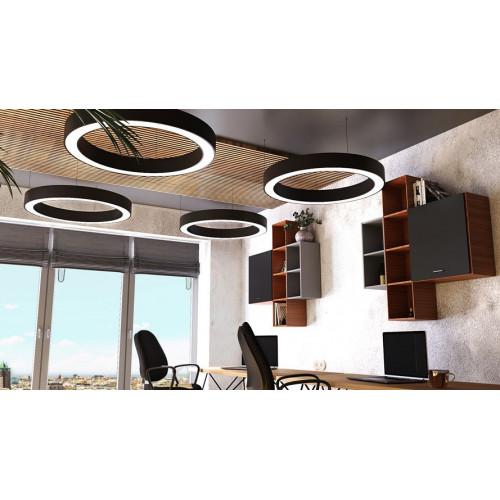 Светодиодный светильник в алюминиевом профиле Prima Tech Round Premium D450