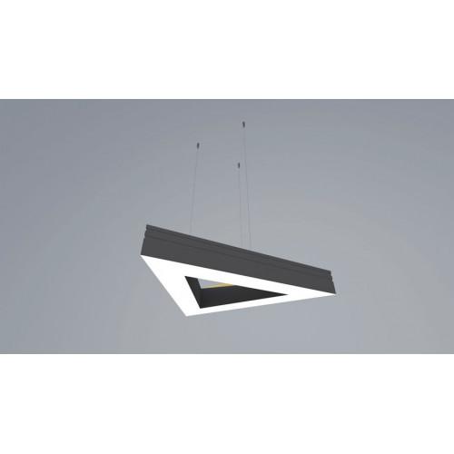 Светодиодный светильник в алюминиевом профиле Prima Tech Triangle Premium 1000