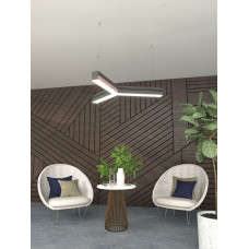 Светодиодный светильник в алюминиевом профиле Prima Tech Y Standart 300