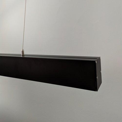 Линейный светодиодный светильник в алюминиевом профиле Prima Tech PLAIN Line Premium 500мм 24W