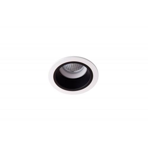 Точечный светодиодный светильник встроенный поворотный Prima Luce PL-0213-WH +BK/SL