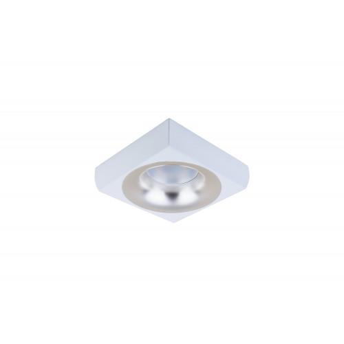 Точечный светодиодный светильник встроенный Prima Luce PL-3553-WH +SL/GD