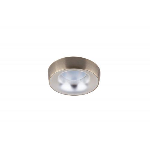 Точечный светодиодный светильник встроенный Prima Luce PL-557-GD