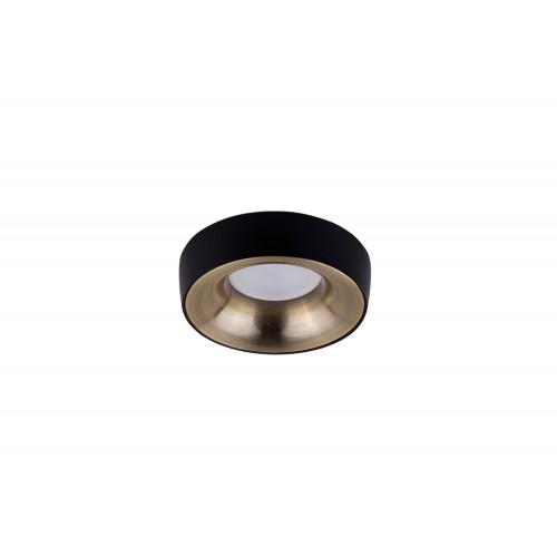 Точечный светодиодный светильник встроенный Prima Luce PL-557BK