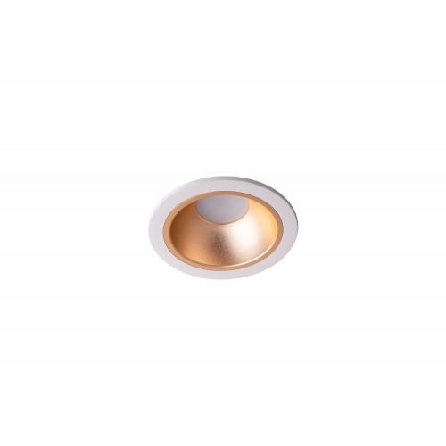 Точечный светодиодный светильник встроенный Prima Luce PL-602-WH +SL/GD/CH