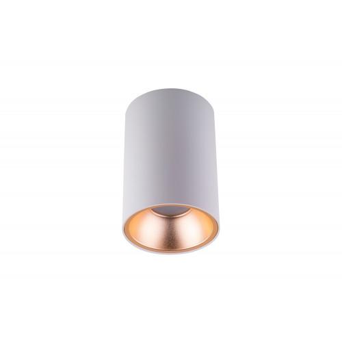 Точечный светодиодный светильник накладной Prima Luce PL-03080 WH+GD
