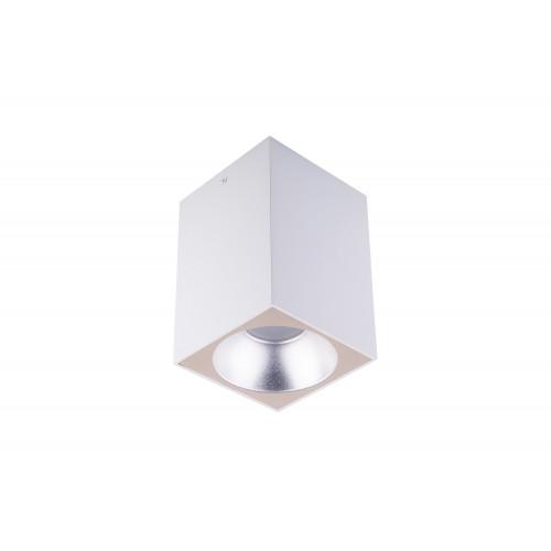 Точечный светодиодный светильник накладной Prima Luce PL-801 WH+SL