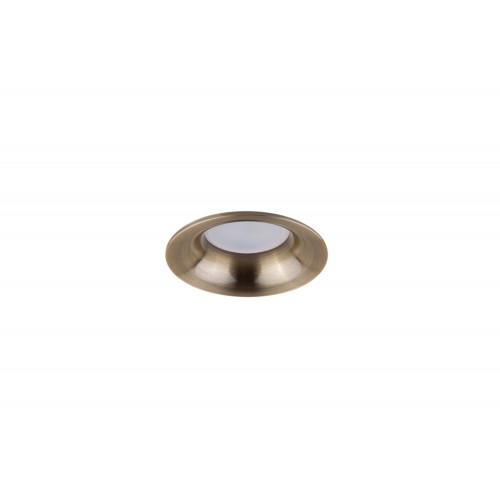 Точечный светодиодный светильник встроенный Prima Luce PL-3557 GD