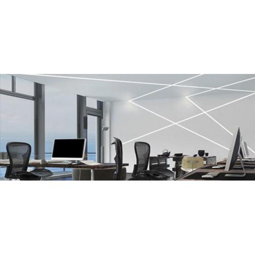 Линейный светодиодный светильник встраиваемый Prima Tech Line Recessed 100mm Premium 42W
