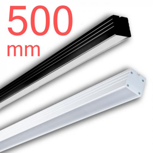 Линейный светодиодный светильник в алюминиевом профиле Prima Tech Line Standart 500мм 18W