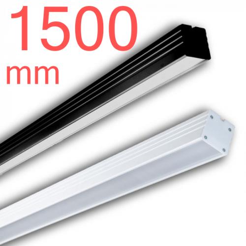 Линейный светодиодный светильник в алюминиевом профиле Prima Tech Line Premium 1500мм 48W