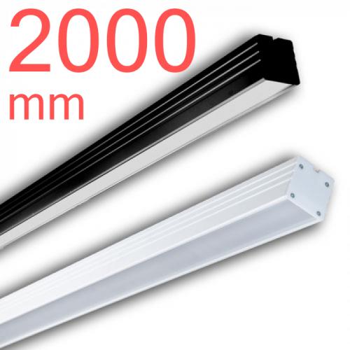 Линейный светодиодный светильник в алюминиевом профиле Prima Tech Line Premium 2000мм 120W
