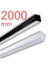 Линейный светодиодный светильник в алюминиевом профиле Prima Tech Line Premium 2000мм 60W