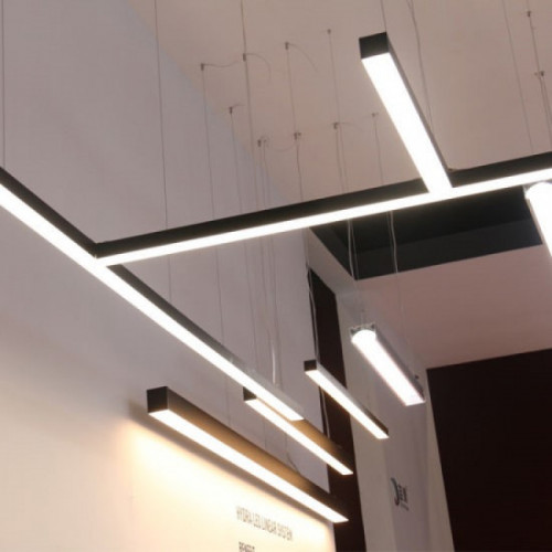 Линейный светодиодный светильник в алюминиевом профиле Prima Tech Line Standart 2000мм 72W