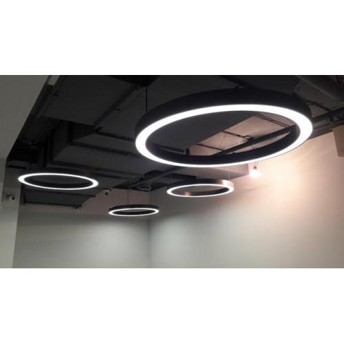 Светодиодный светильник в алюминиевом профиле Prima Tech Round Premium D2000