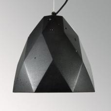 Подвесной бетонный светильник Бриолет Черный