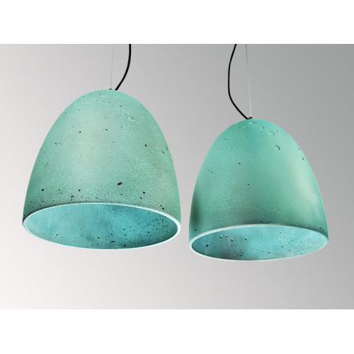 Подвесной бетонный светильник Люсси Оксид Меди