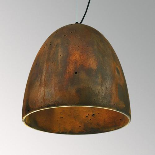 Подвесной бетонный светильник Люсси Ржавчина
