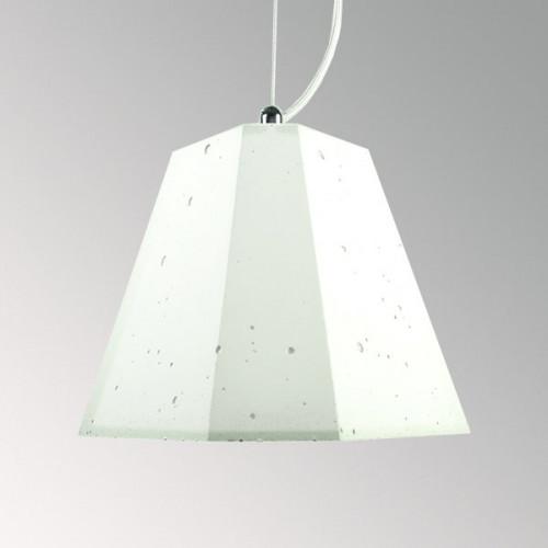 Подвесной бетонный светильник Трего Белый