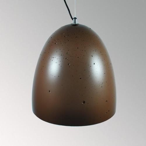 Подвесной бетонный светильник Люсси Коричневый