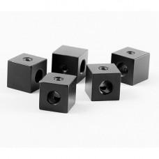 Потолочное крепление кабеля (кубик) черный