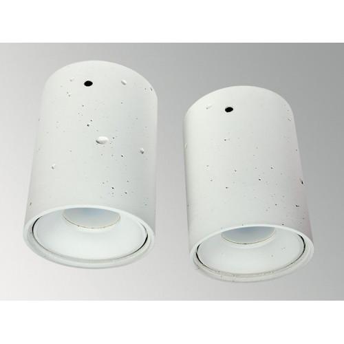 Накладной бетонный светильник Спот Белый