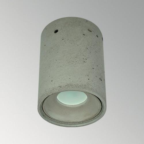 Накладной бетонный светильник Спот Серый