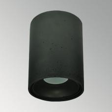 Накладной бетонный светильник Спот Черный
