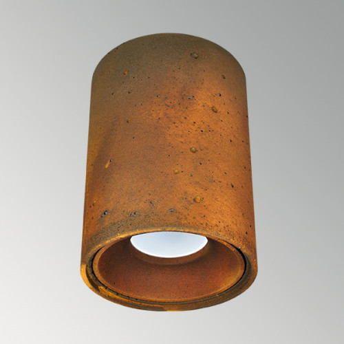 Накладной бетонный светильник Спот Ржавчина