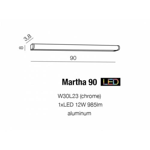 Бра Azzardo Martha 90 Az1681