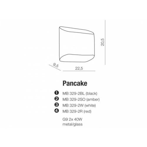 Бра AZzardo PANCAKE AZ0112 (MB3292BK)
