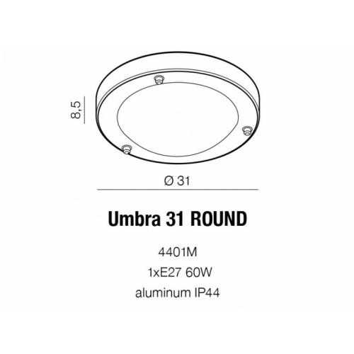 Бра AZzardo UMBRA 31 AZ1597 (4401M )