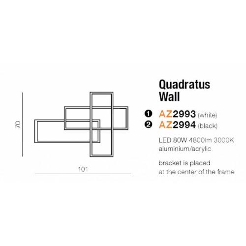 Бра AZzardo QUADRATUS DIMM AZ2993
