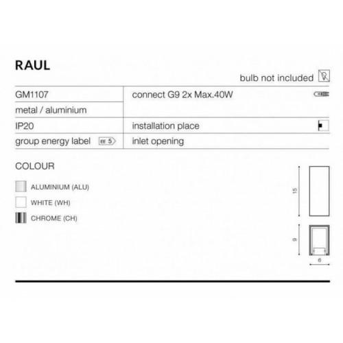 Бра Azzardo Raul Az0892