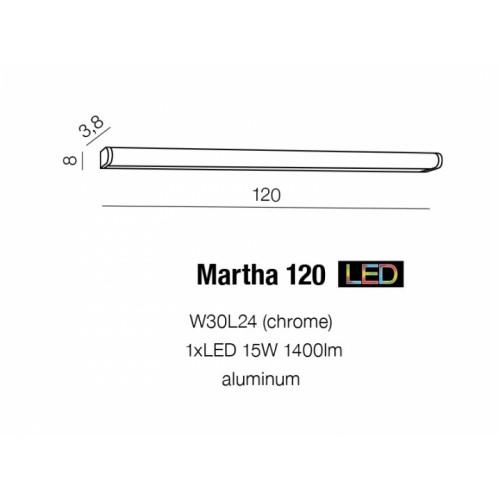 Бра Azzardo Martha 120 Az1682