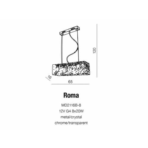 Бра AZzardo ROMA AZ1511 (MB2100B4 )