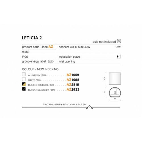 Бра AZzardo LETICIA 2 AZ2815