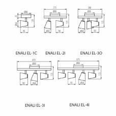 Бра Kanlux ENALI EL-1O W 28760