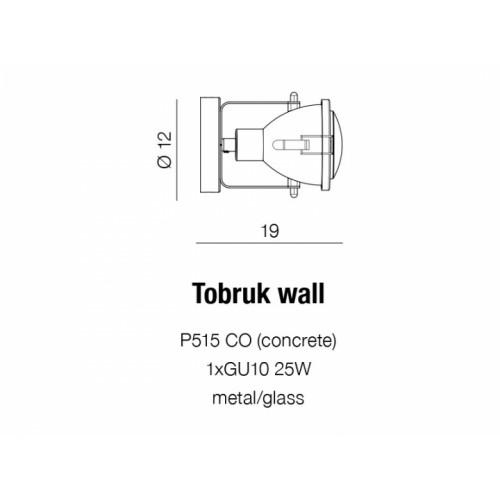 Бра Azzardo Tobruk Wall Az1584