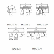 Бра Kanlux ENALI EL-1O B 28761