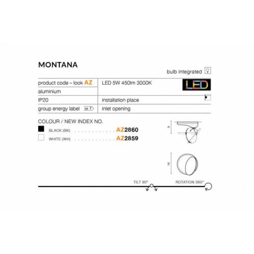 Бра Azzardo Montana Az2860