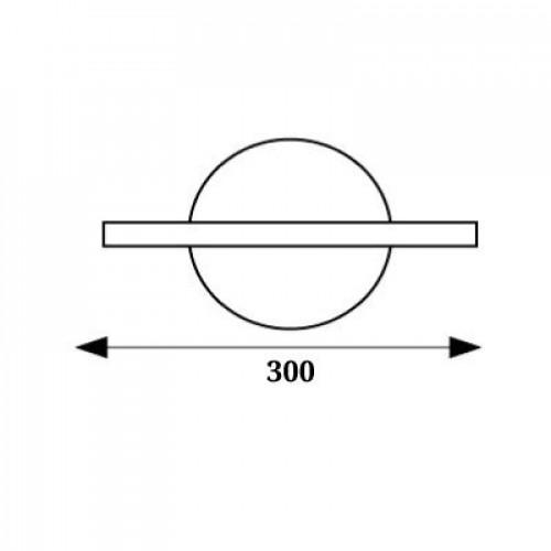 Бра светодиодное 12W 4000К WL-015345