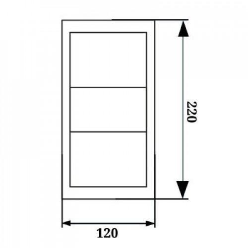Бра светодиодное 2х6W 4000К WL-015332