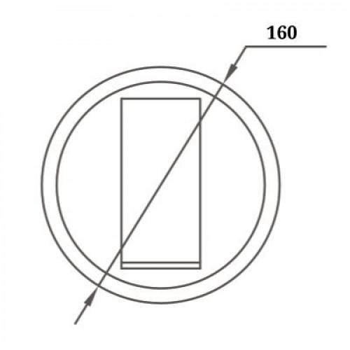 Точечный настенный светильник 5W+7W 3000К WL-015359