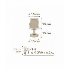 Настільна лампа Dalber VICHY 80221B