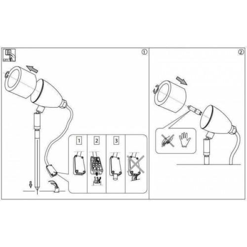 Архітектурний світильник Ideal Lux INSIDE 115412