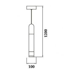 Люстра-подвес LED 5W 3000К WL-015389